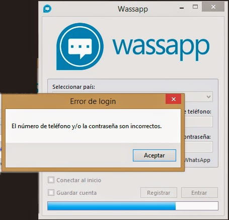 activando el wassapp
