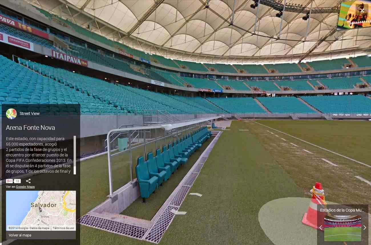 estadio fonte nova 360º