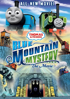 Thomas and Friends: Blue Mountain Mystery Poster