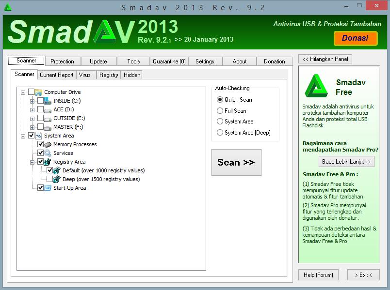 Tidak banyak informasi yang kami peroleh mengenai Smadav 2013 terbaru ...