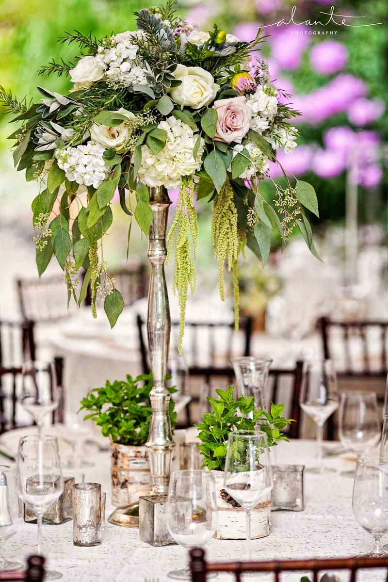 Green and white wedding flowers, garden style wedding flowers, DeLille wedding, Flora Nova Design, wedding with ferns