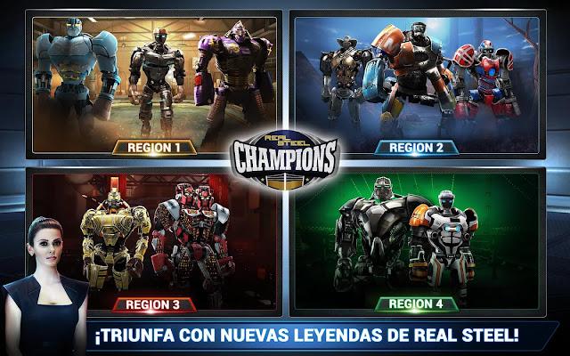 Real Steel Champions v1.0.75 Apk Mod [ilimitado Oro y Plata]