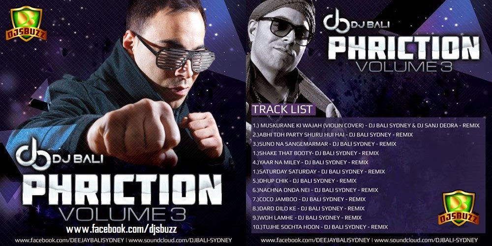 PHRICTION VOL.3 - DJ BALI SYDNEY