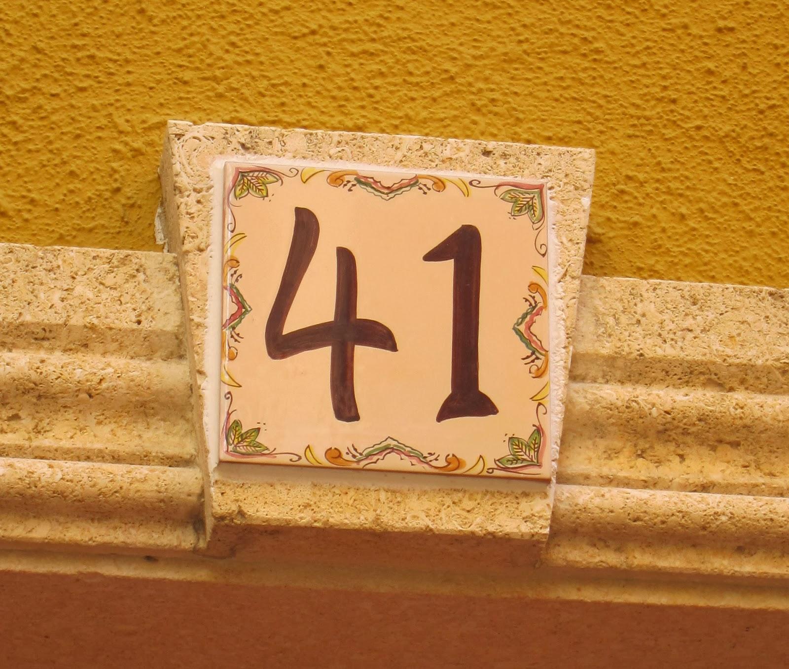 Apiarium azulejos con n mero de casa ii for Azulejo numero casa