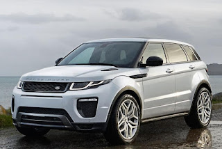 2016 New Land Rover Evoque Generation  front view