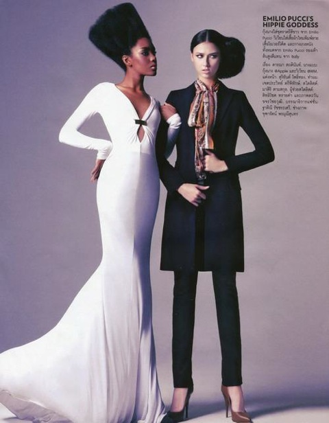 Venera Khasiyatullina for Marie Claire Magazine, Thailand