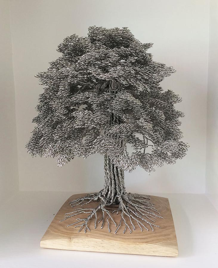 Umk art culture art matters for How to make a wire tree of life sculpture