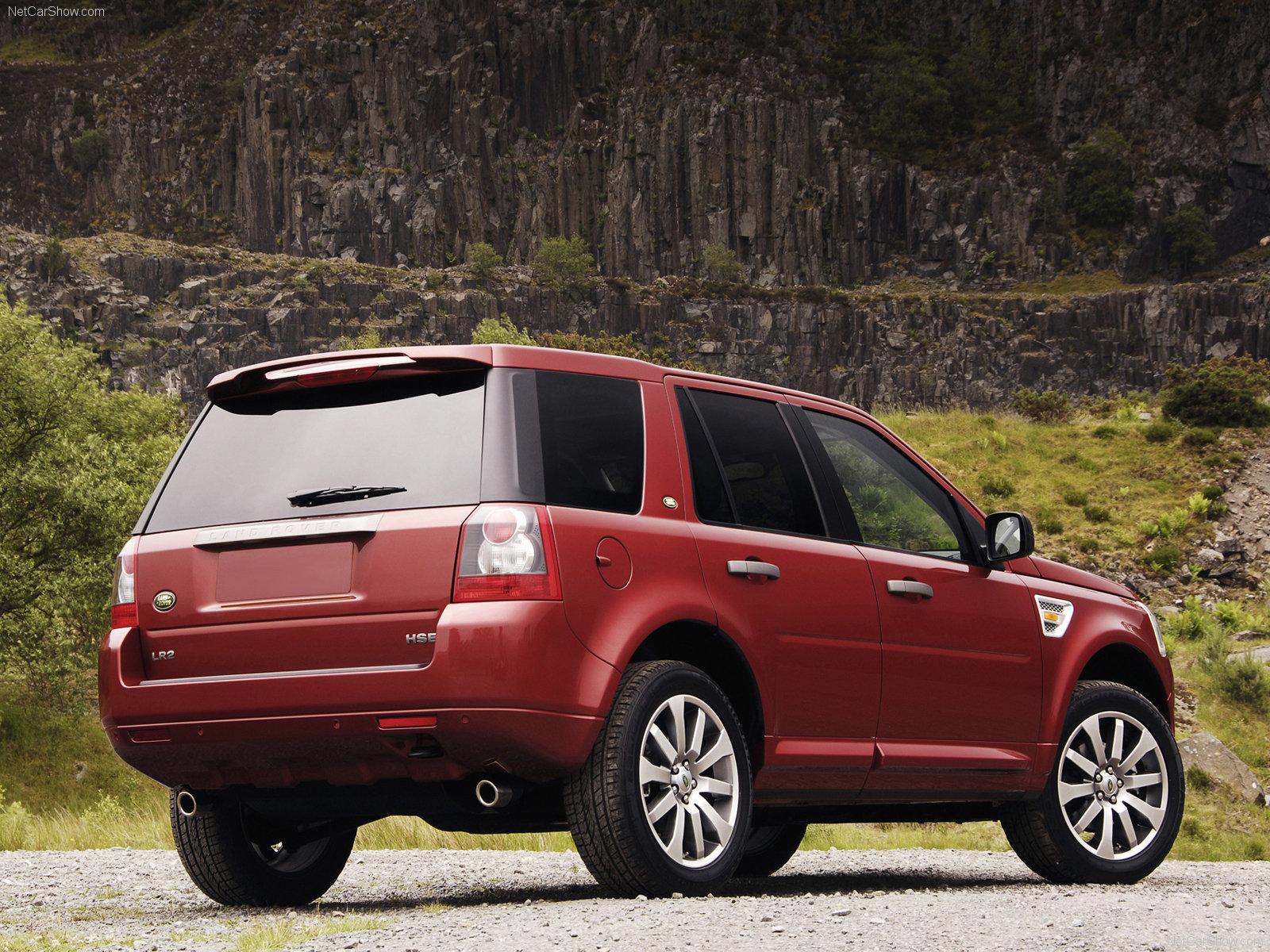 Hình ảnh xe ô tô Land Rover LR2 HSE 2008 & nội ngoại thất