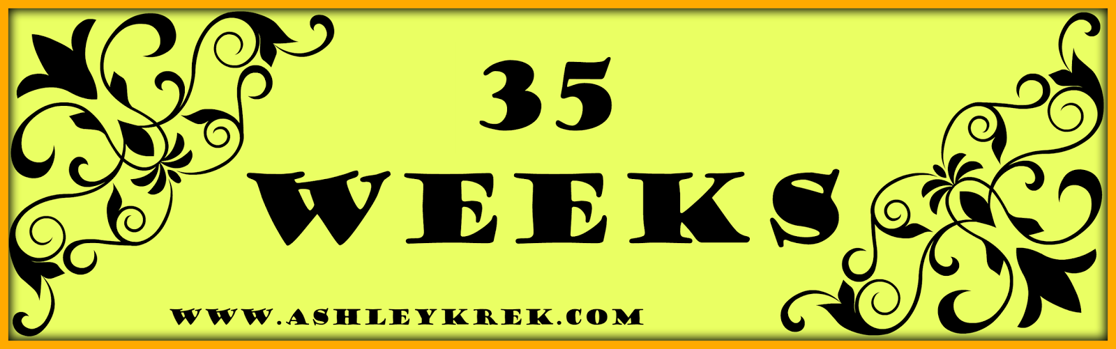 Week 35 Baby Bump