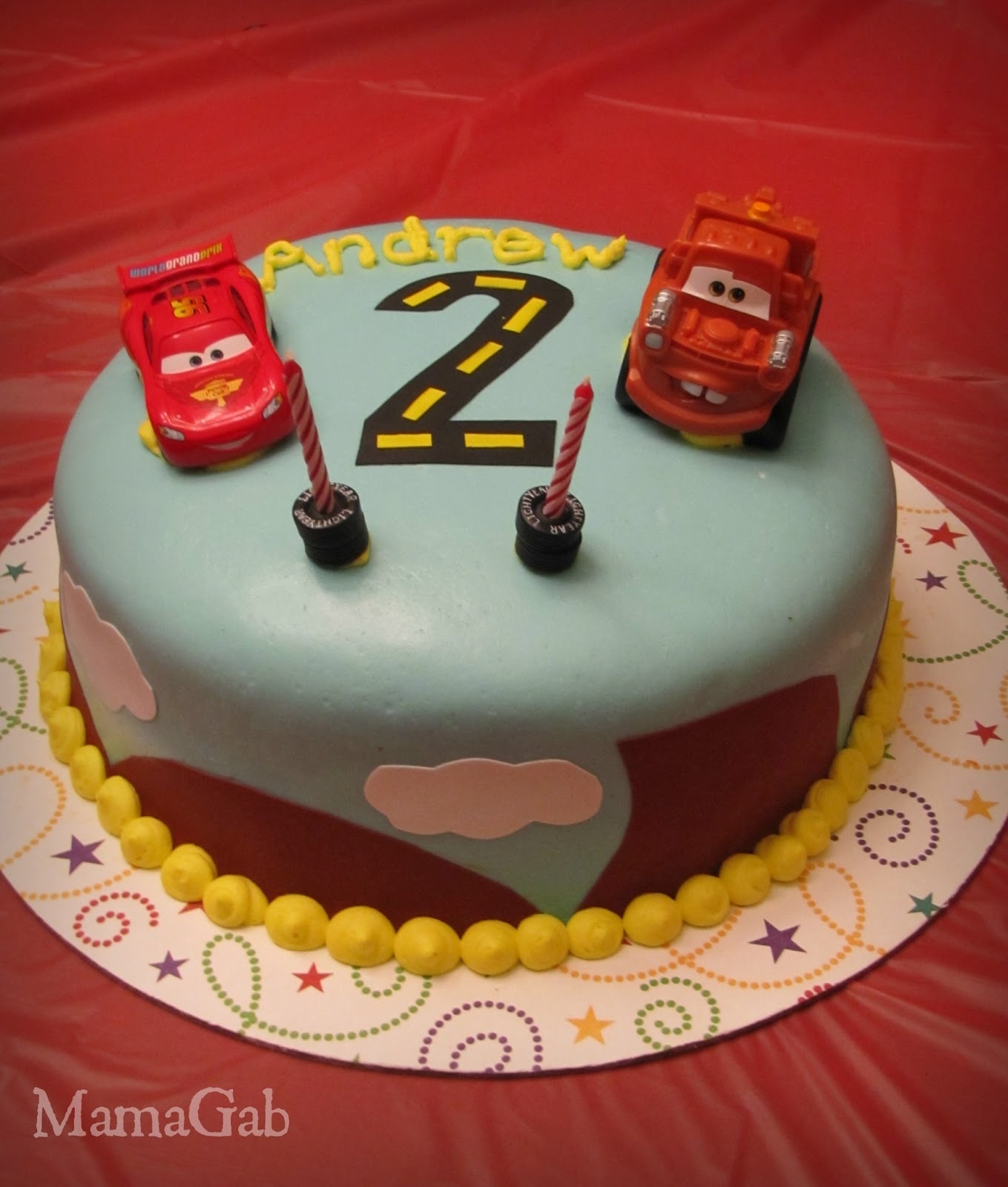 Making Birthday Cakes At Home The Cars Cake Living With Food