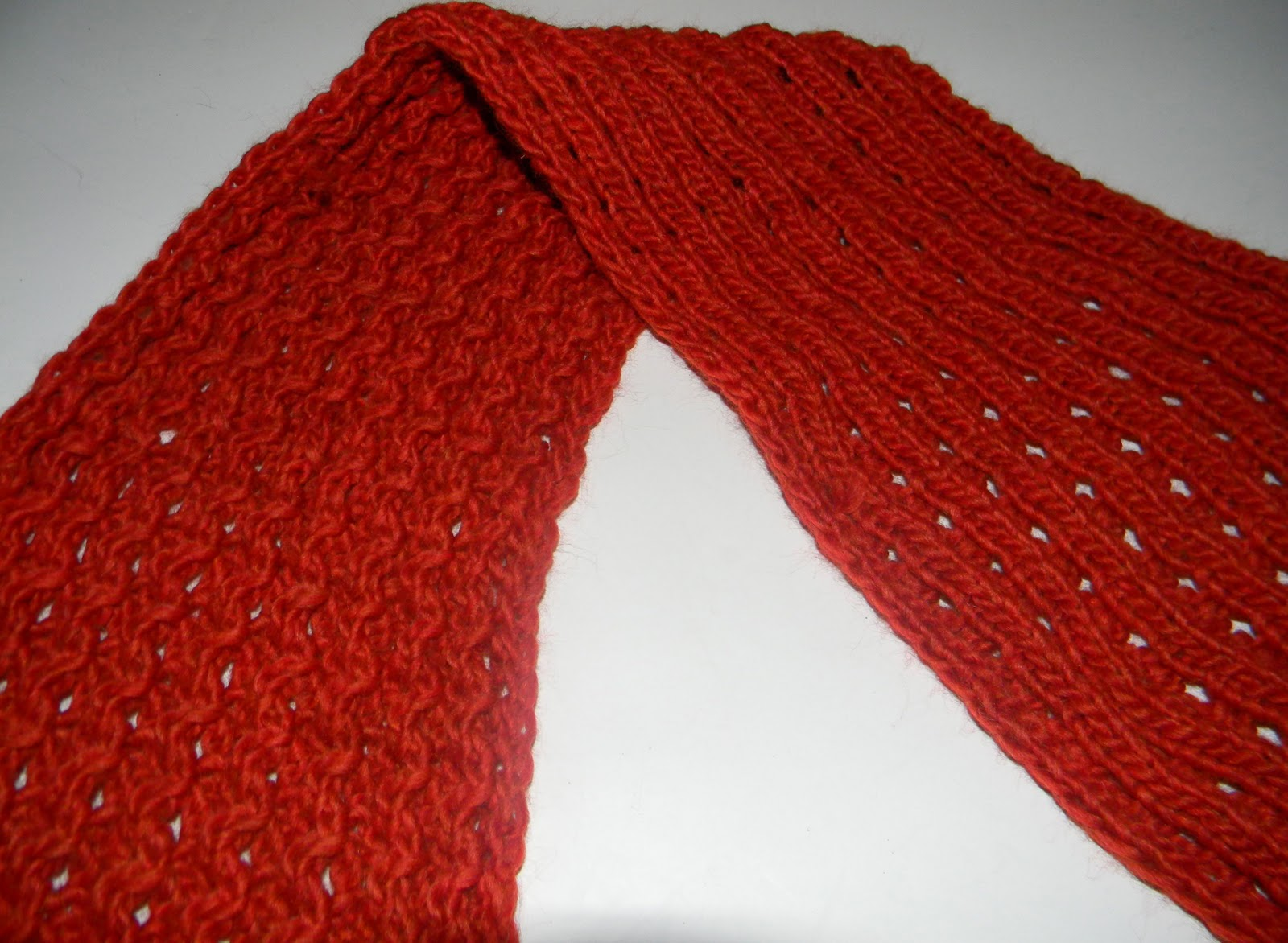 Louise Knits: Easy scarf pattern
