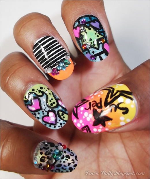 nails nicki minaj contest