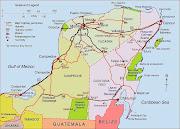 Mapa de Mérida Político Región (mapa de rida)