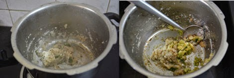 sauteing ginger garlic paste