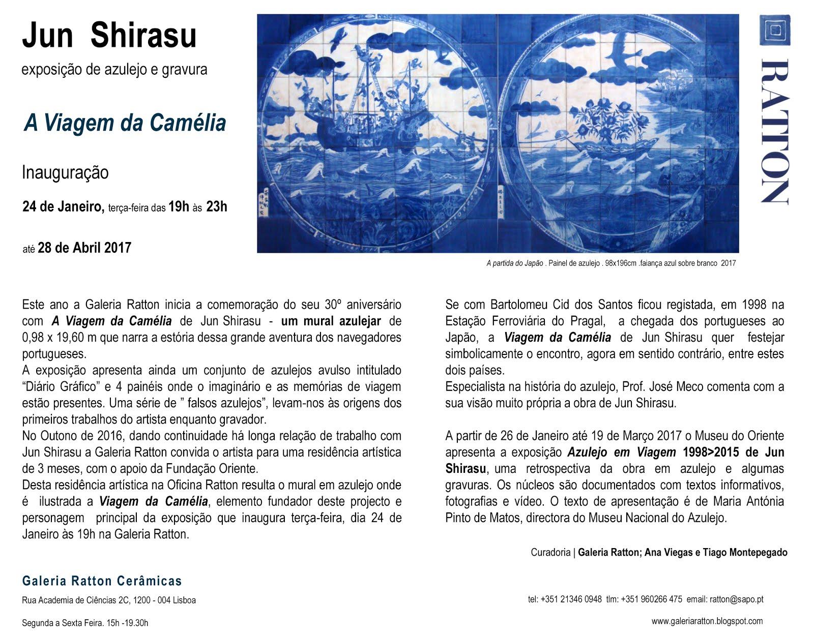Jun Shirasu A Viagem da Camélia Ratton