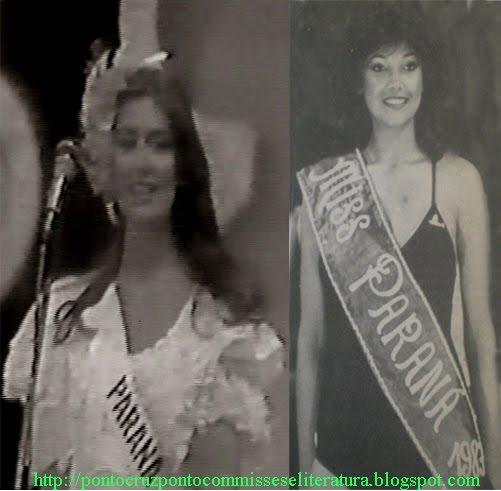 1982 - RONIMAR MENDES; 1983 - SALETE MENDES