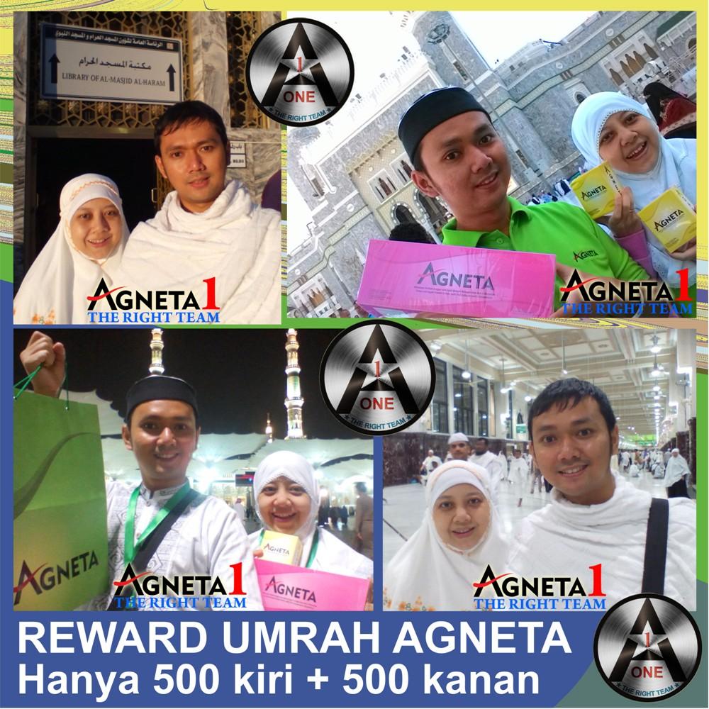 Maulia & Mira, Peraih Reward Umrah Agneta