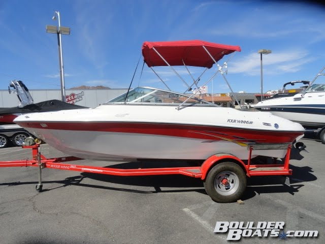 2007 Four Winns 190 Horizon! Low hour boat in great condition!