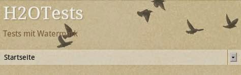 Wasserzeichen 1 - Mobilvorlage - mit Vögeln