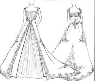 Ide Desain Gaun Pengantin