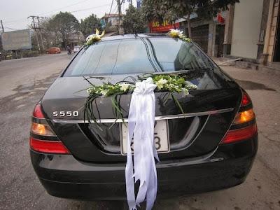 cho thuê xe cưới Mercedes S500 vip đời mới tại hà nội