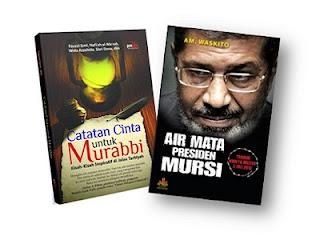 Buku Air Mata Presiden Mursi dan Catatan Cinta untuk Murabbi