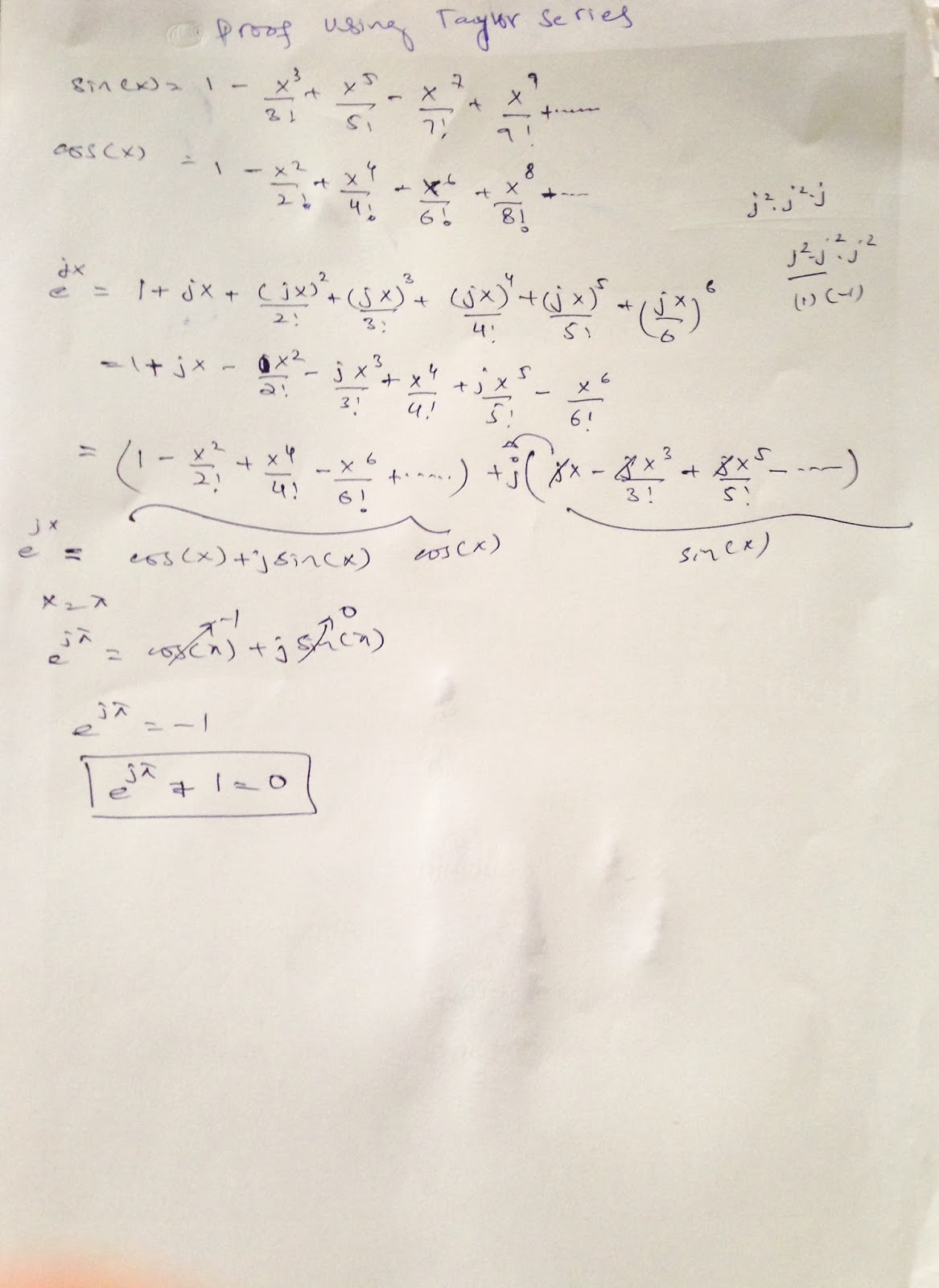 ExtremeVoltages: Two Different Proof of Euler Identity