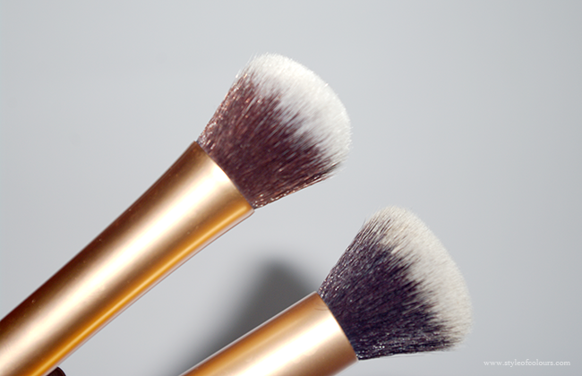 Real Techniques Buffing Brush Vs Ebay Dupe