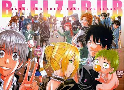 beelzebub manga final anuncio spinoff