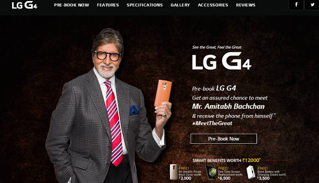 LG G4 Comming Soon in India