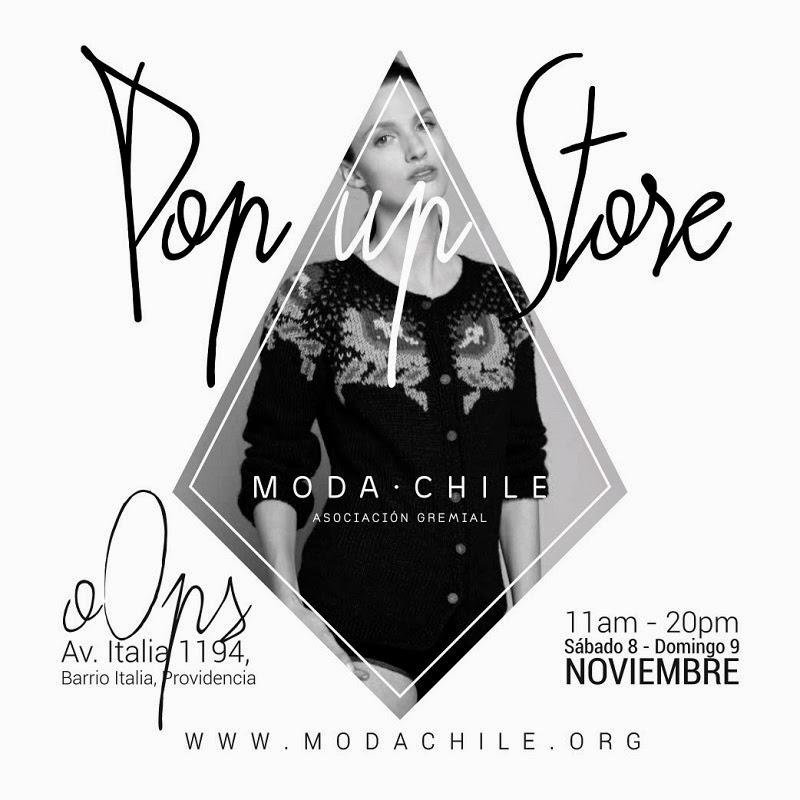 @moda_chile las invita al primer POP UP STORE de moda nacional