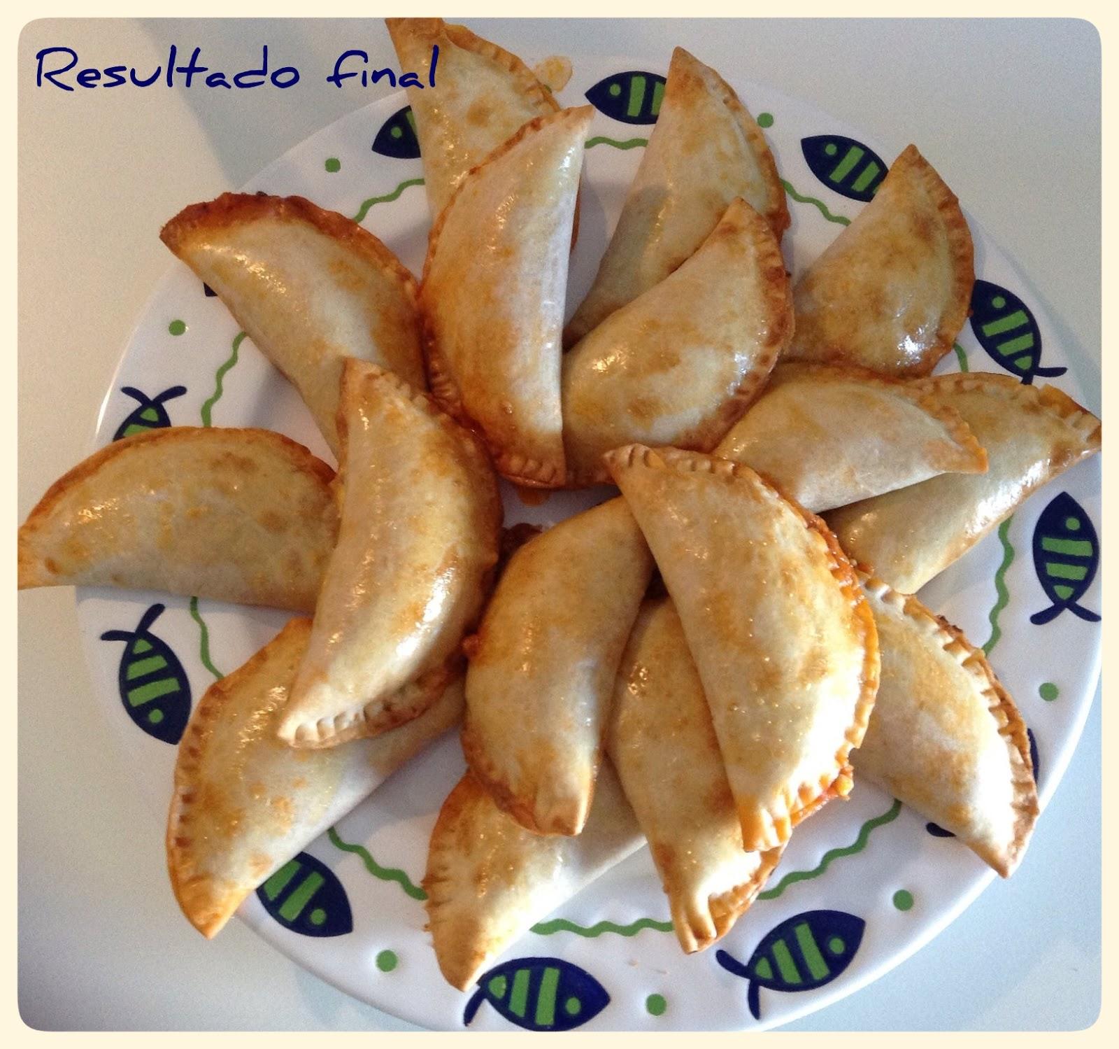 Plato de peces con empanadillas