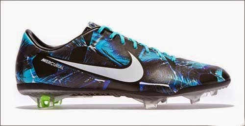 Latest series of football boots Nike Mercurial Tropical Pack
