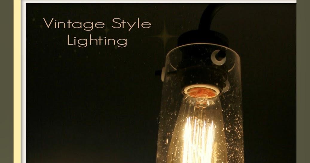 ART IS BEAUTY Vintage Style Kitchen Lighting Update Buh