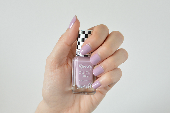 Barry M Speedy Quick Dry Nail Paint in Lap of Honour Review