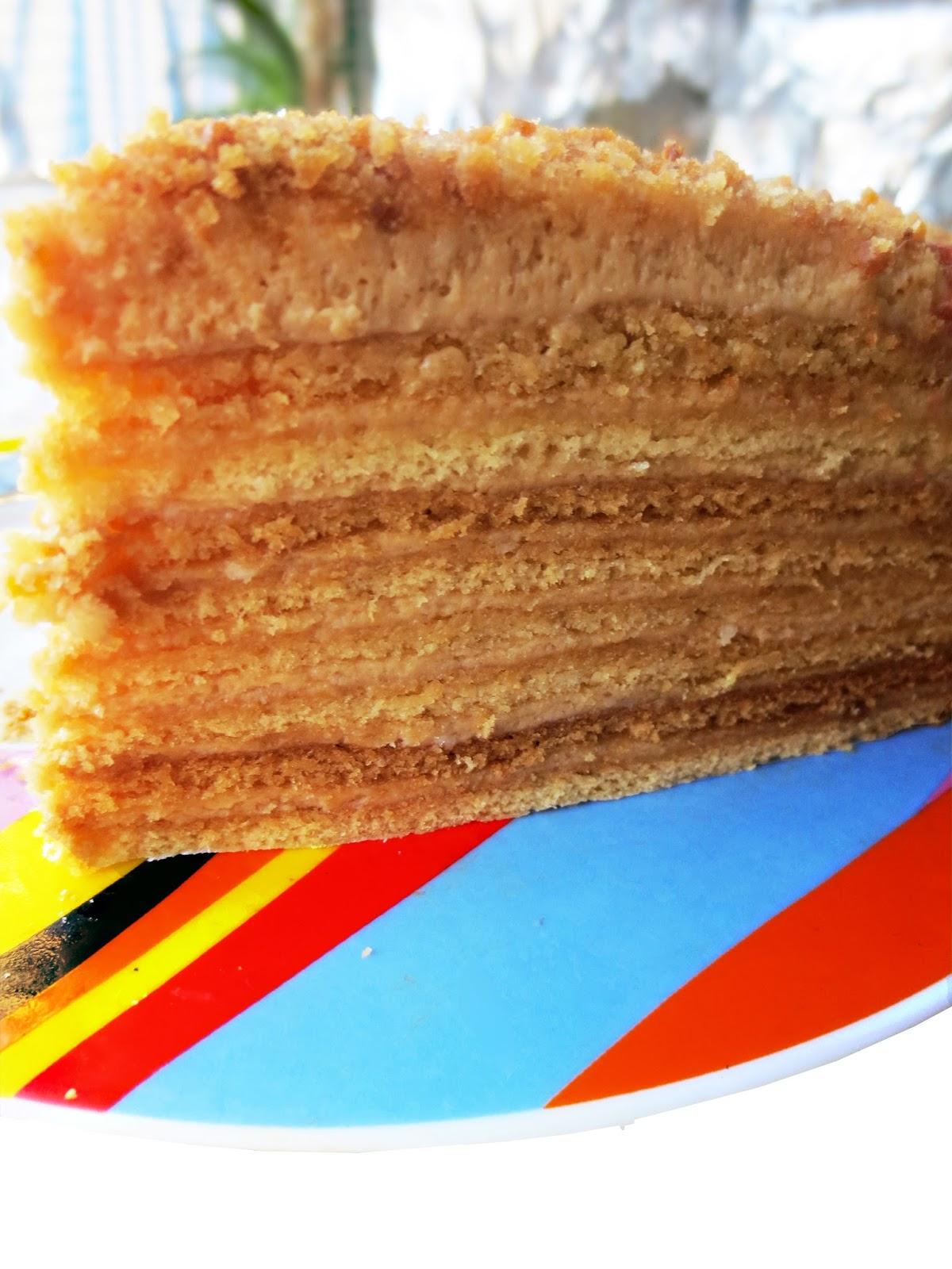 Медовый торт бисквит рецепт с пошаговым фото