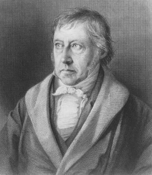 Hegel's thesis antithesis synthesis model