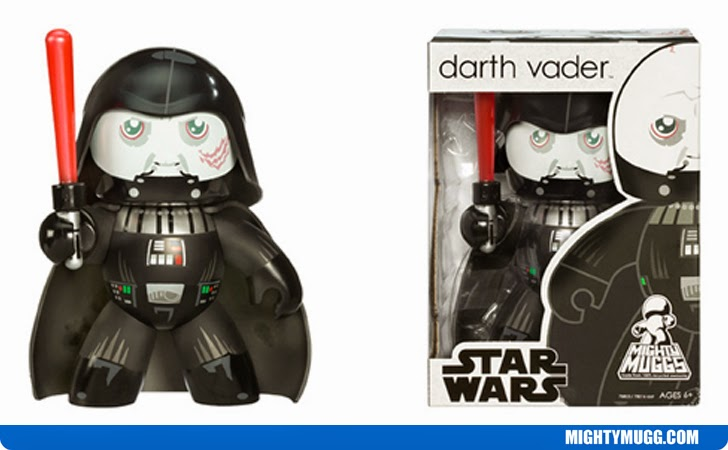 Darth Vader Helmetless Star Wars Mighty Muggs Wave 6