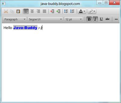 HTMLEditor in JavaFX2.1
