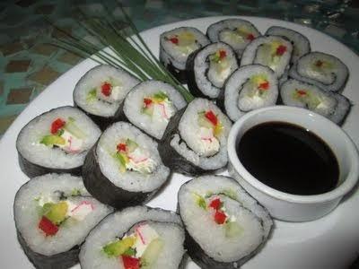 Exquisitos sushis!!!