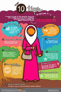 10 Tips untuk menjadi Muslimah Produktif