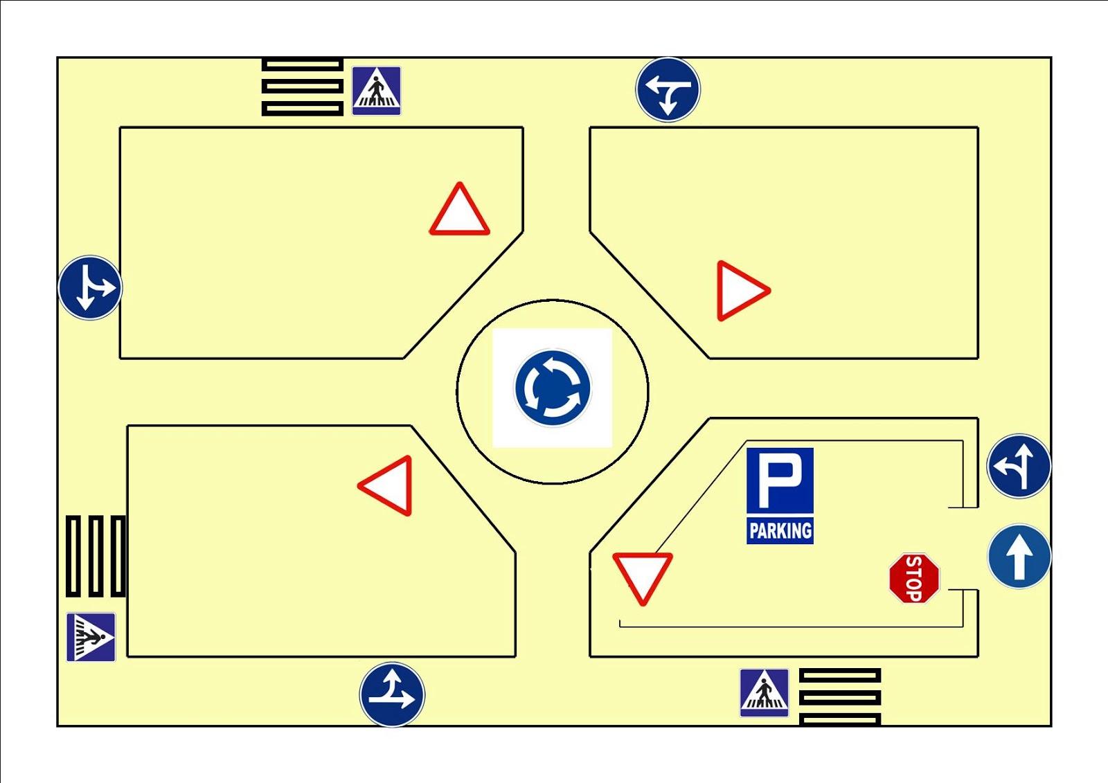 Circuito Vial : Educación física en la red nuestro circuito de vial