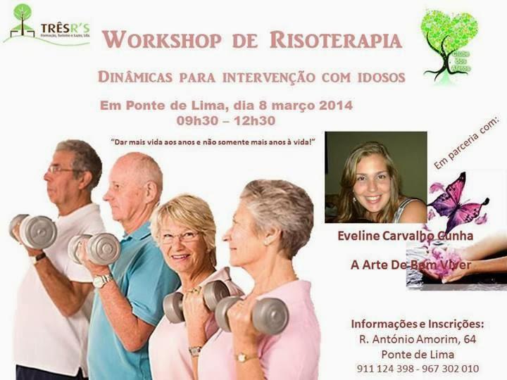 Workshop de risoterapia em Ponte de Lima