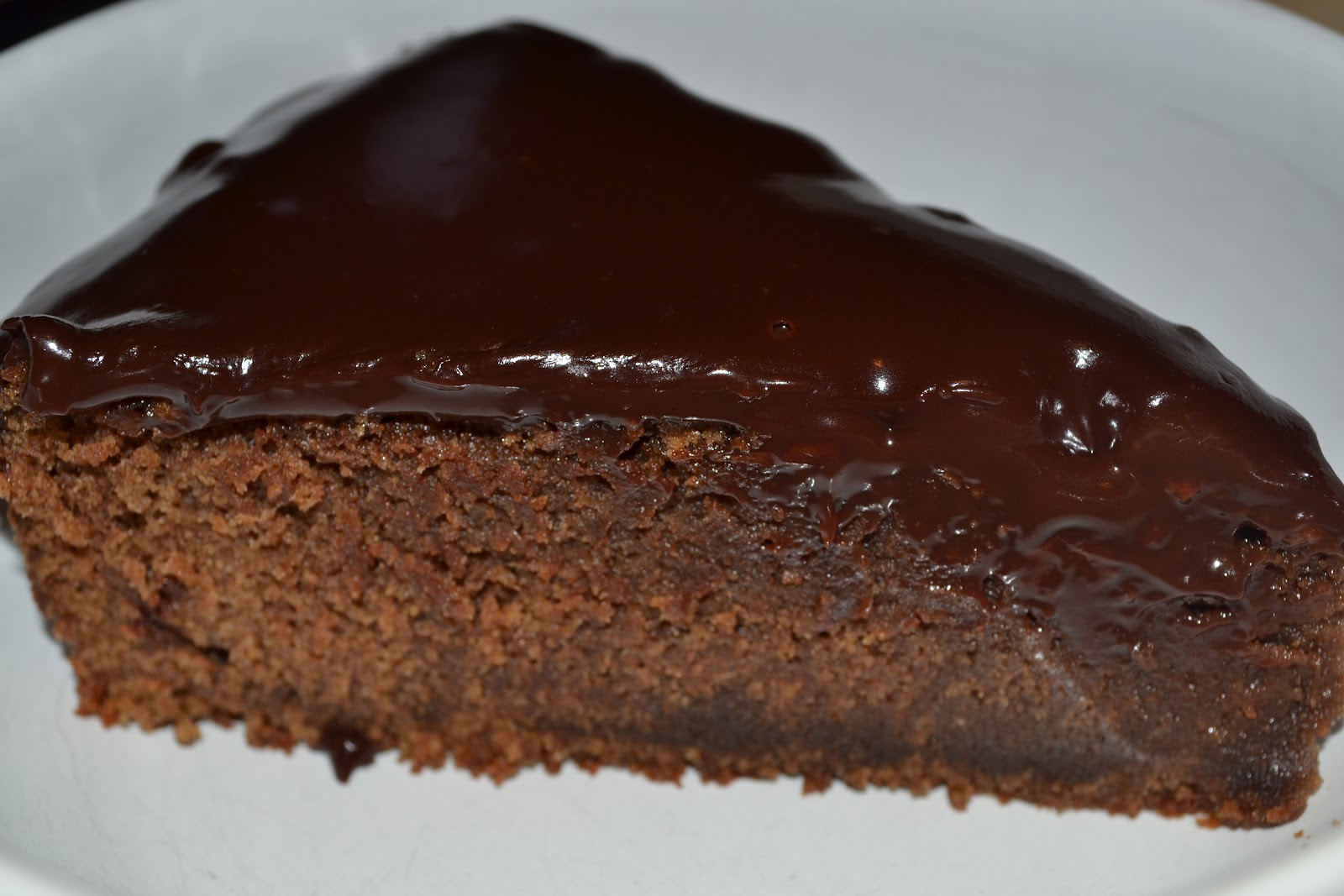 Chocolate Ganache Cake - Just Take A Bite