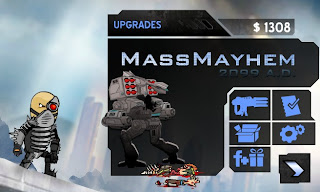 Mass Mayhem 2099 AD cheats.