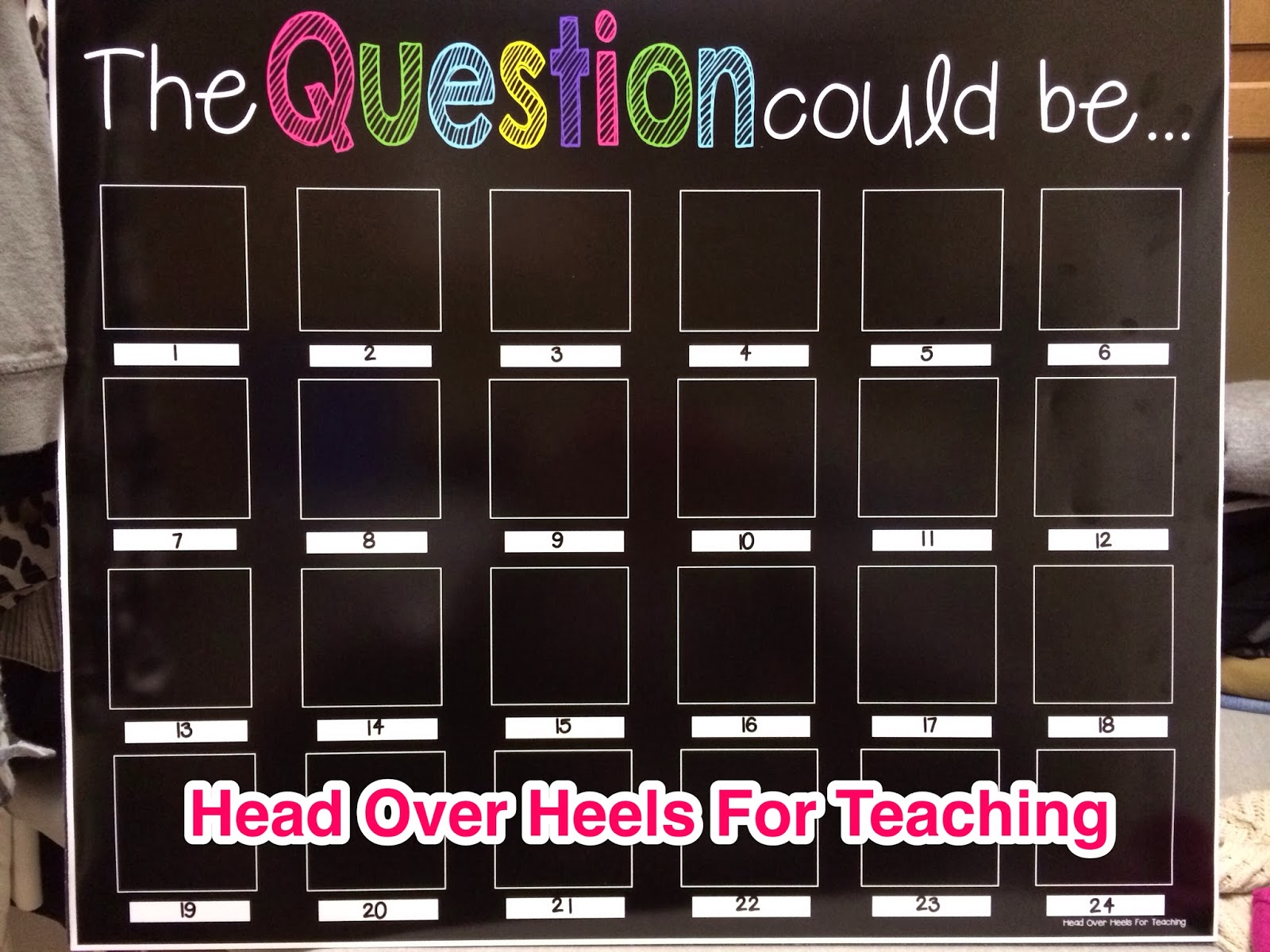 http://www.teacherspayteachers.com/Product/The-Question-Could-Be-20x24-Poster-1097493