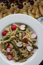 Asparagus and Radish Pasta Salad