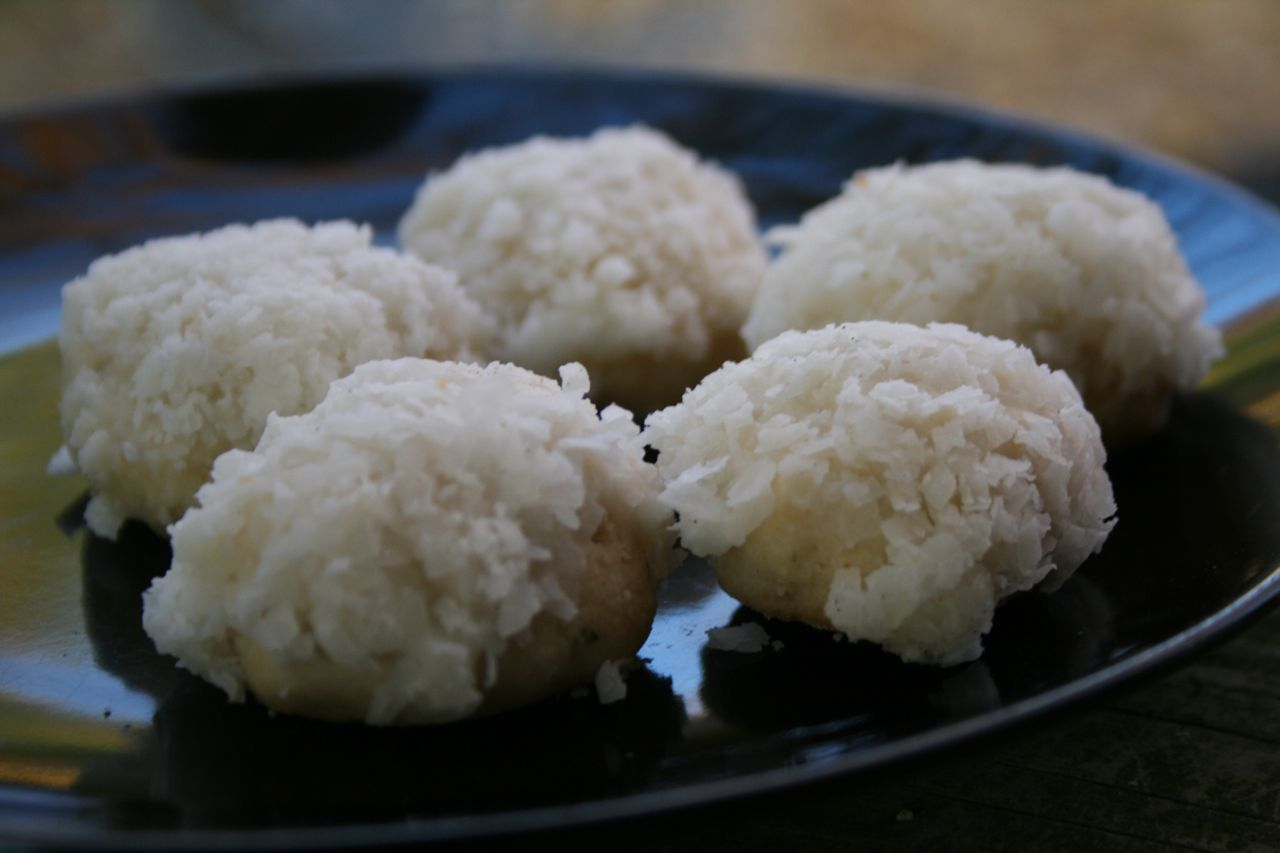Lime Glazed Coconut Snowball Cookies Recipe Recipes