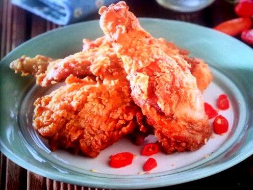 Resep Ayam Goreng Tepung Pedas