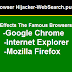Browser hijacker and redirect virus WebSearch.pu-result.info causes symptoms and removal
